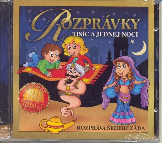 CD-Rozprávky Tisíc a jednej noci-nové vydanie