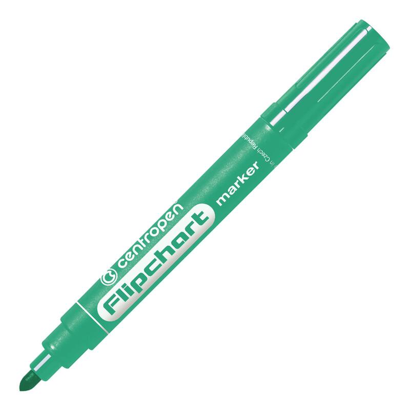 CENTROPEN - Popisovač 8550 Flipchart - zelený