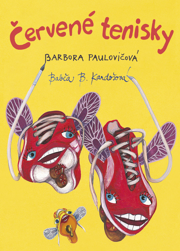 Červené tenisky - Barbora Paulovičová