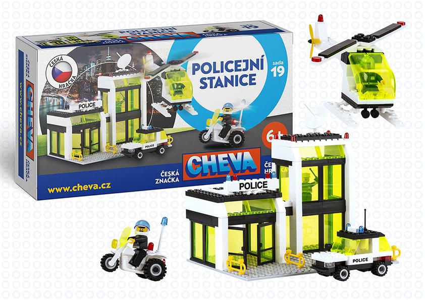 CHEMOPLAST - Cheva 19 Policajná Stanica