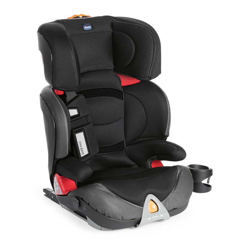 CHICCO - Autosedačka Oasys 2-3 FixPlus Evo - Jet Black 15-36kg