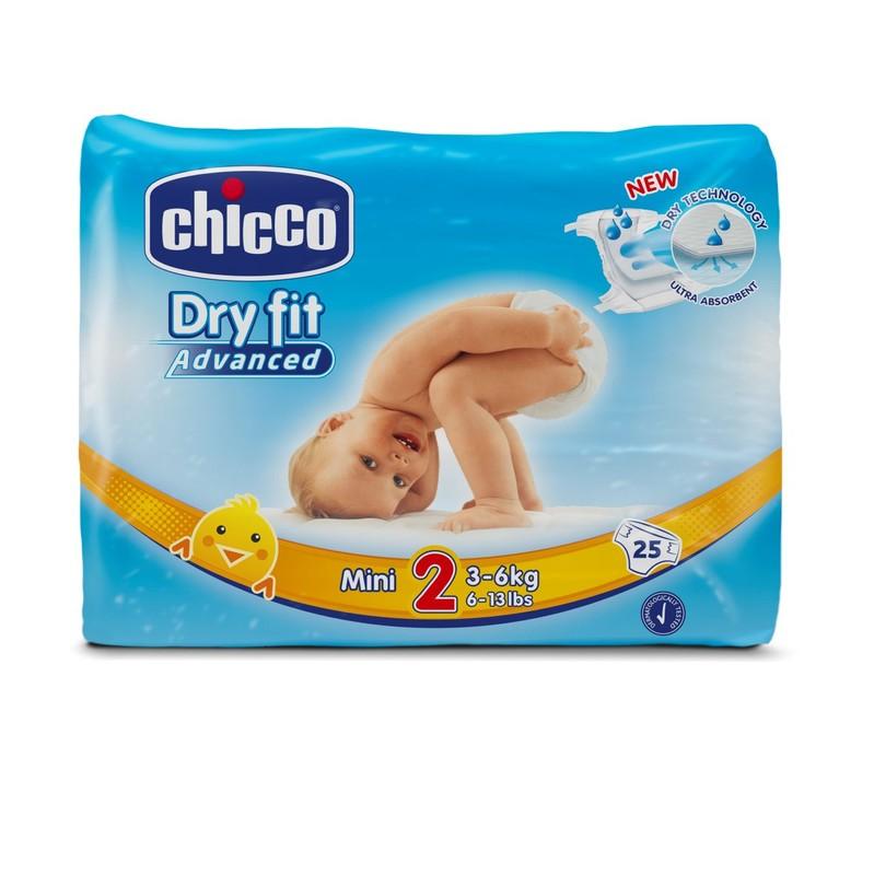 CHICCO - Plienky Mini 3-6kg 25ks