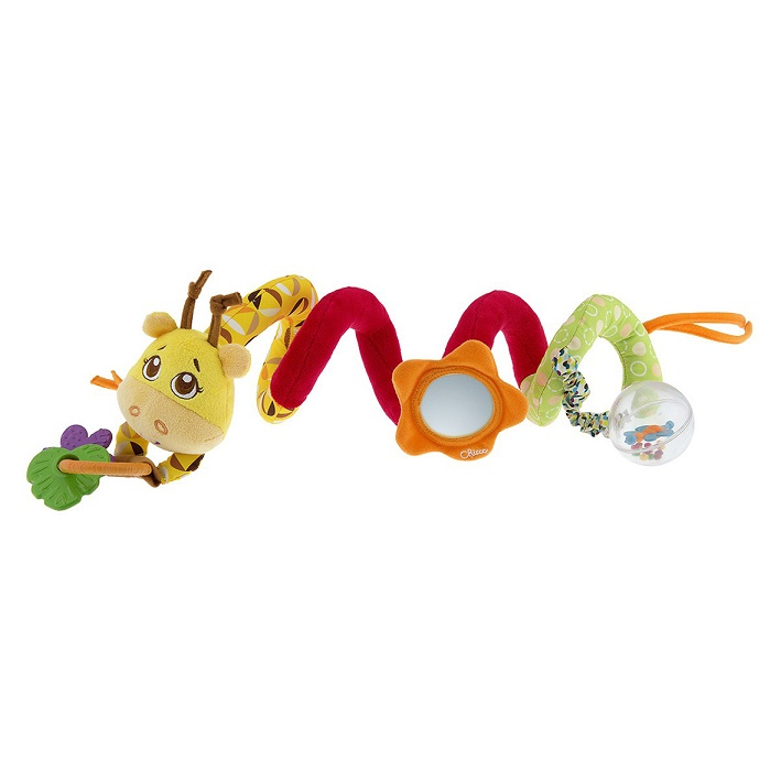 CHICCO - Špirála na hrazdičku kočíka Žirafa