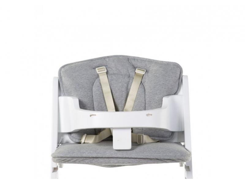 CHILDHOME - Sedacie vankúšiky do rastúcej stoličky Jersey Grey