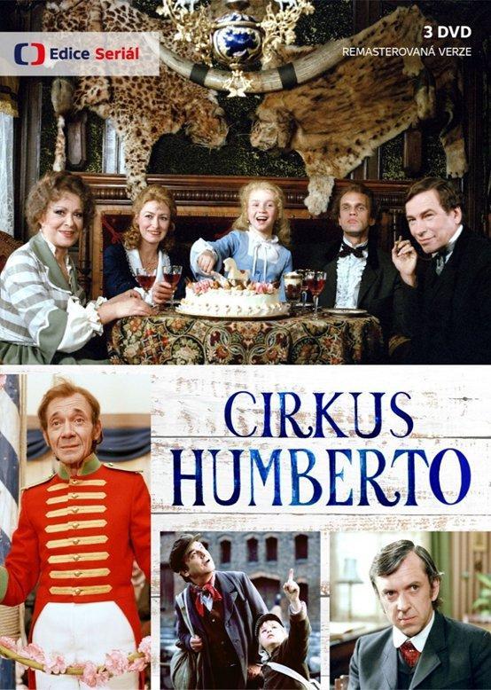 Cirkus Humberto 3 DVD (remasterovaná verze) - Eduard Bass
