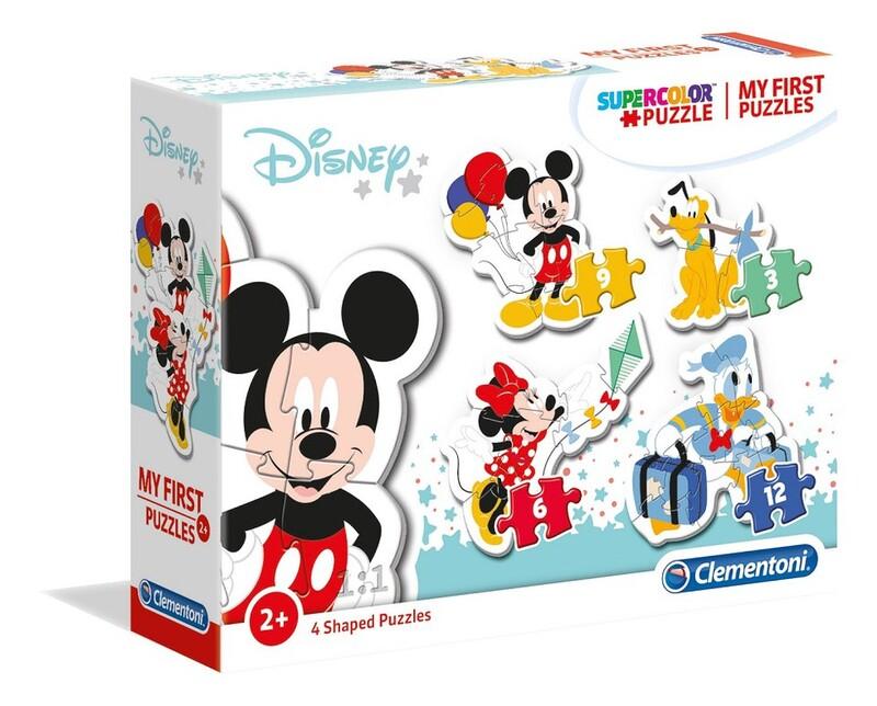 CLEMENTONI - Moje prvé puzzle Disney postavičky