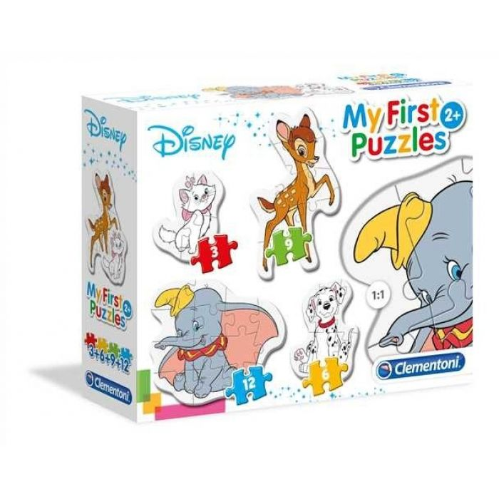 CLEMENTONI - Moje prvé puzzle Disney zvieratká