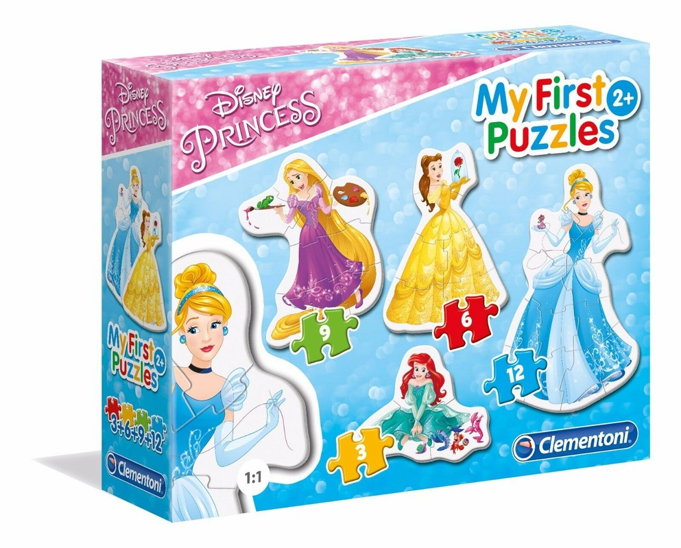 CLEMENTONI - Moje prvé puzzle Princezné