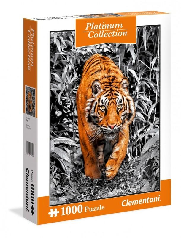 CLEMENTONI - puzzle 1000 Tiger