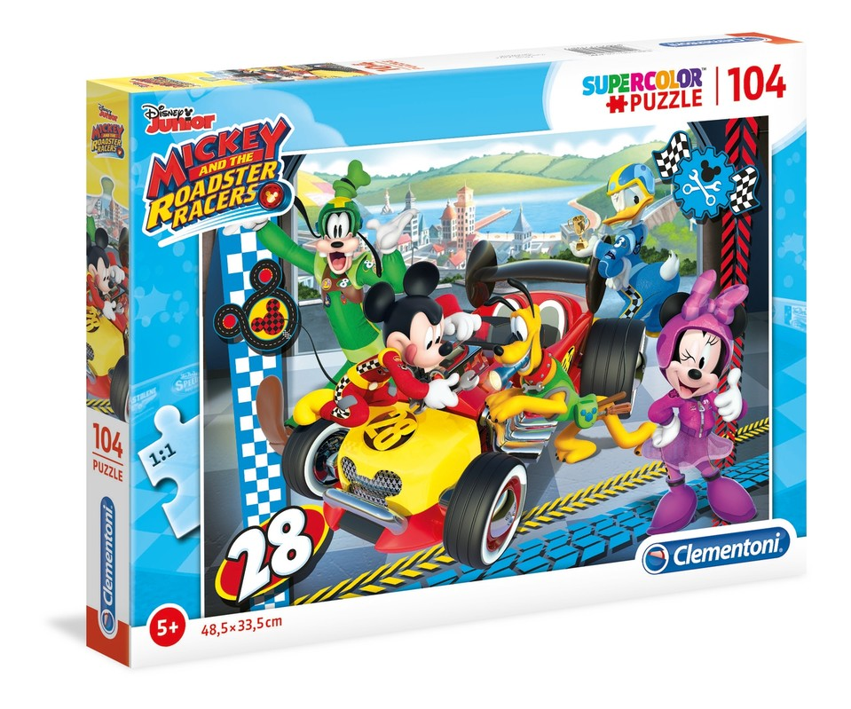 CLEMENTONI - Puzzle 104 Mickey Mouse