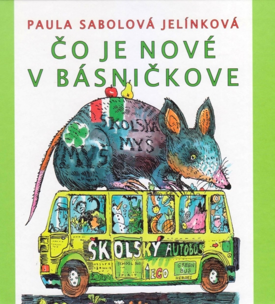 Čo je nové v básničkove - Paula Sabolová Jelínková