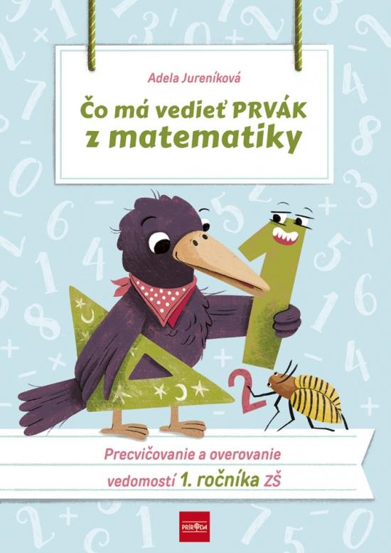Čo má vedieť prvák z matematiky, 2.vydanie - Adela Jureníková