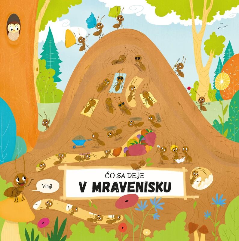 Čo sa deje v mravenisku - Petra Bartíková