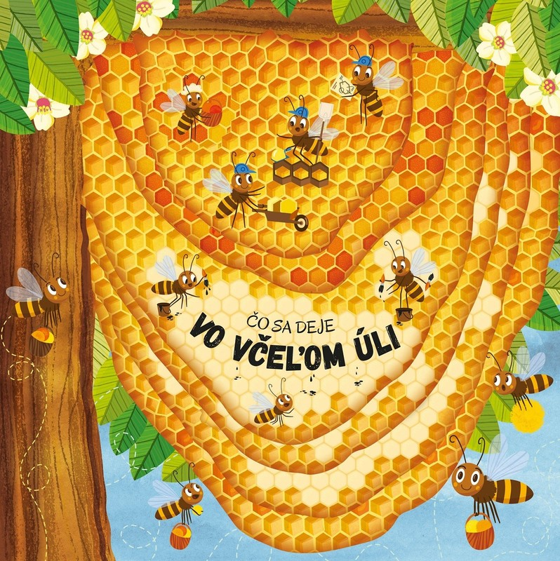 Čo sa deje vo včeľom úli - Petra Bartíková