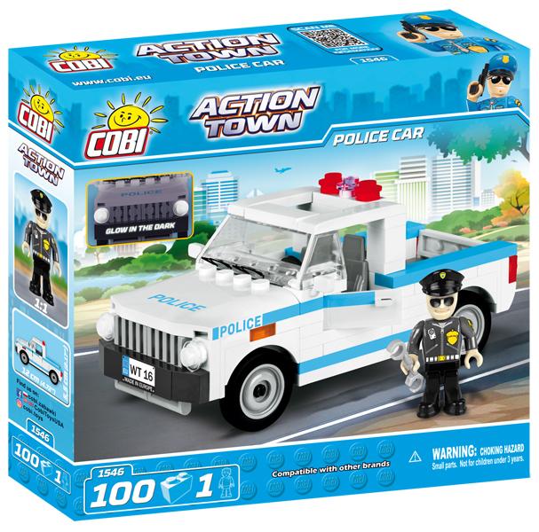 COBI - 1546 ACTION TOWN – Policajné auto 100 k
