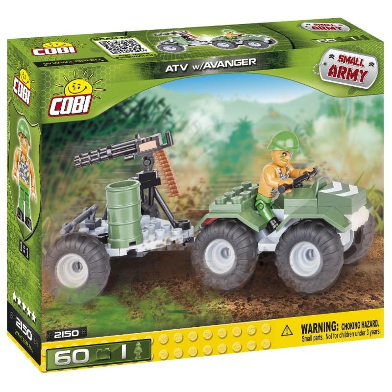 COBI - 2150 Small Army ATV s avangerom
