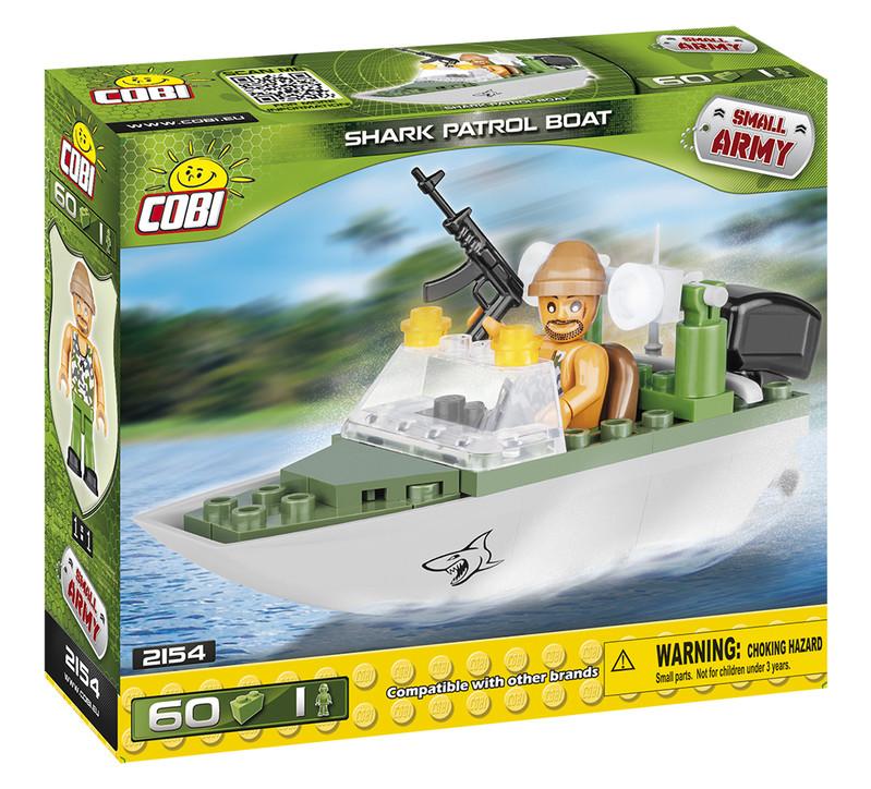 COBI - 2154 Small Army Hliadkovací čln Shark
