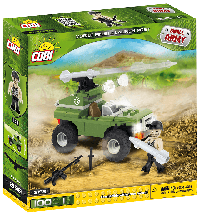 COBI - 2198 Small Army Raketomet