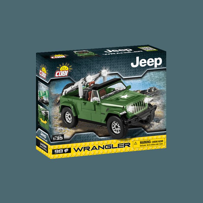 COBI - 24095 Jeep Wrangler vojenský 1:35