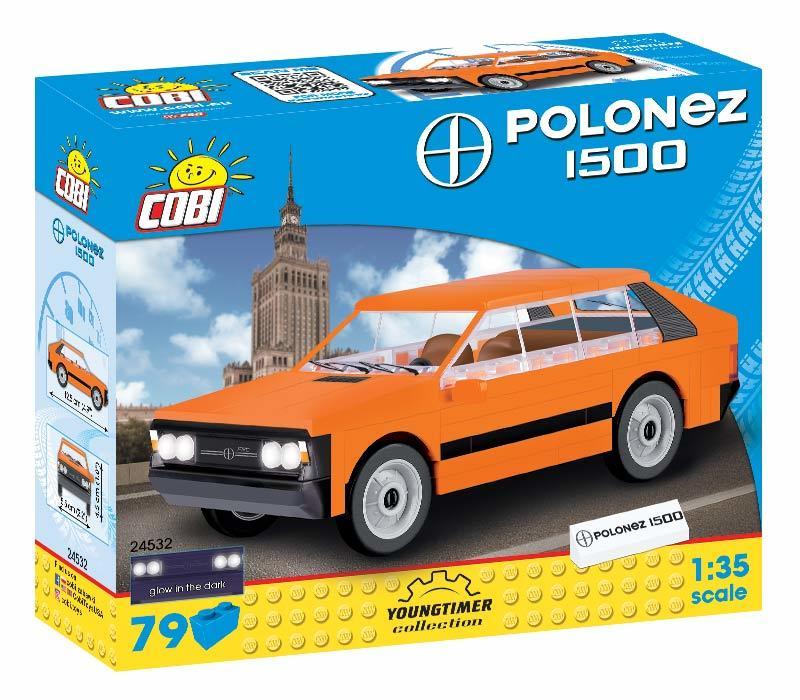 COBI - 24532 Youngtimer Polonez 1500, 1:35