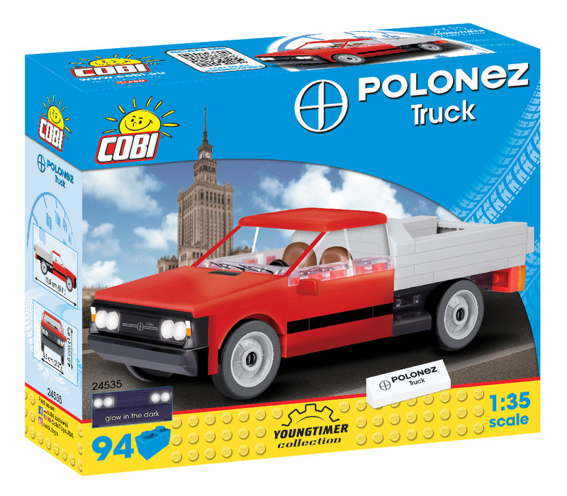 COBI - 24535 Youngtimer Polonez Truck 1:35