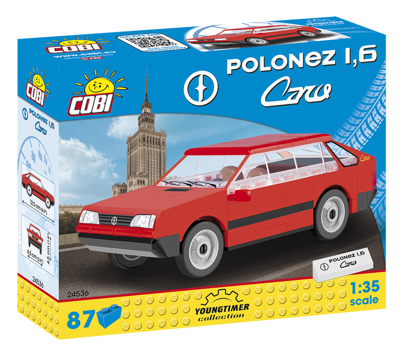 COBI - 24536 Youngtimer Polonez 1,6 Caro 1:35
