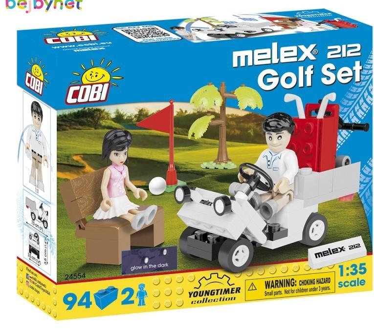 COBI - 24554 Action Town - Golfový vozík