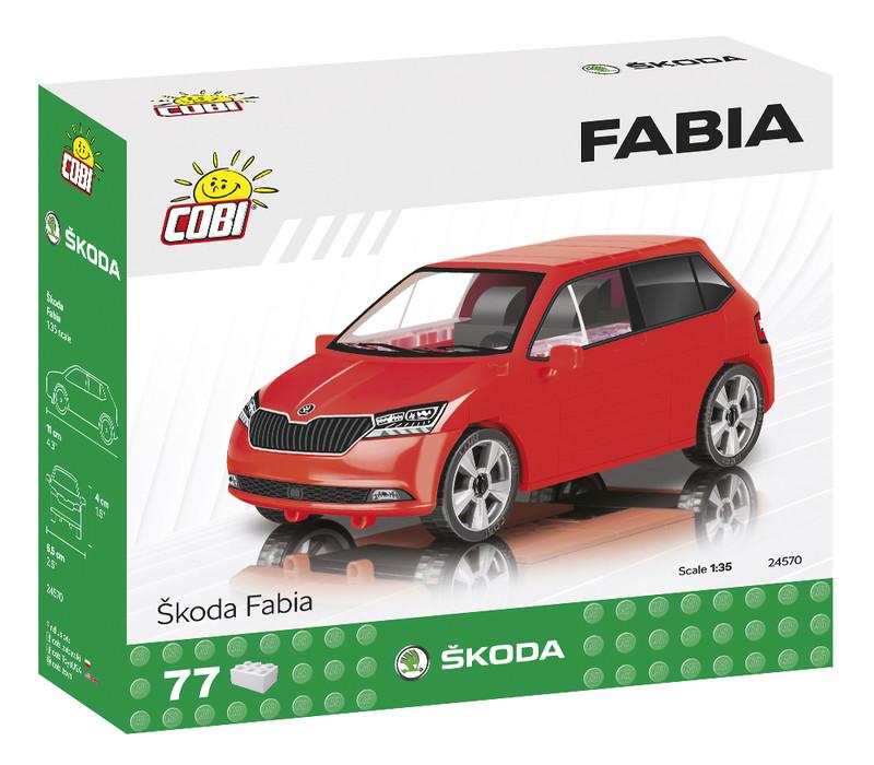 COBI - 24570 Škoda Fabia 2019, 1 : 35