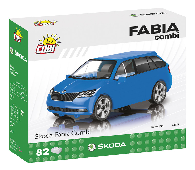 COBI - 24571 Škoda Fabia Combi 2019, 1 : 35