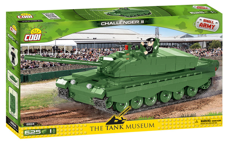 COBI - 2614 Small Army Tank Challenger II