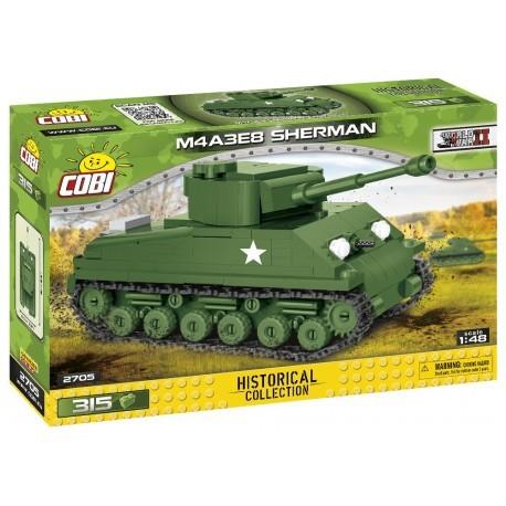 COBI - II WW Sherman M4A3E8 Easy Eight, 1:48, 315 k