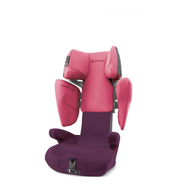 CONCORD - Autosedačka Transformer TECH Rose Pink 15-36 kg