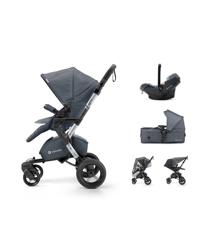 CONCORD - Mobility Set Neo Air.Safe+Scout Steel Grey Concord 2017