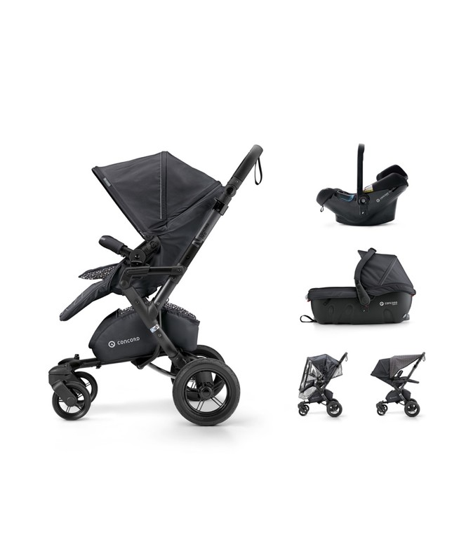 CONCORD - Travel Set Neo Air.Safe+Sleeper Cosmic Black Concord 2017