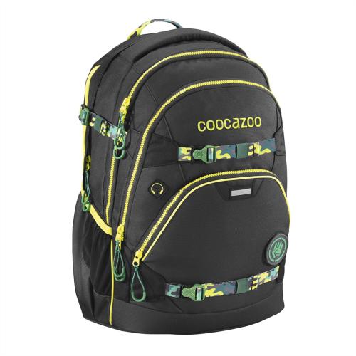 COOCAZOO - Školský ruksak e-ScaleRale s elektronicky nastaviteľným bed. popruhom, AGR
