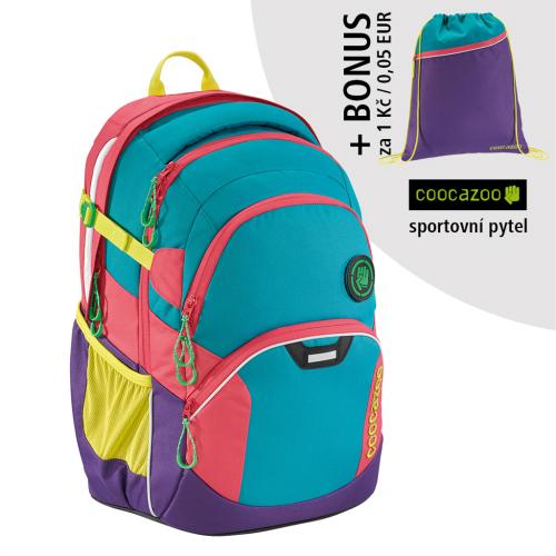 COOCAZOO - Školský ruksak JobJobber2, Holiman+ BONUS ŠPORTOVÝ VAK za 0,05 EUR