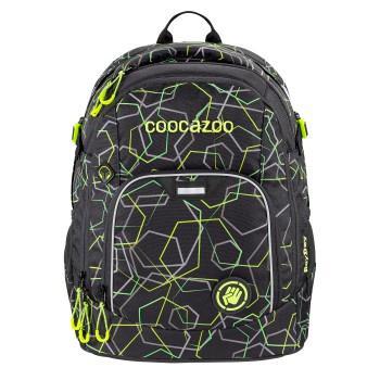 COOCAZOO - Školský ruksak Rayday, Laserbeam Black