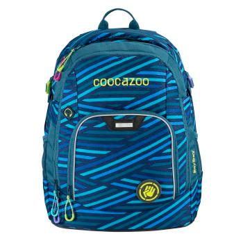 COOCAZOO - Školský ruksak Rayday, Zebra Stripe Blue