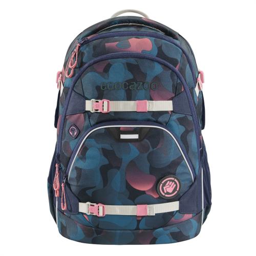 COOCAZOO - Školský ruksak ScaleRale, Cloudy Peach, certifikát AGR