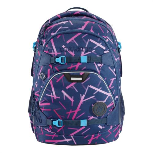 COOCAZOO - Školský ruksak ScaleRale, Cyber Pink, certifikát AGR