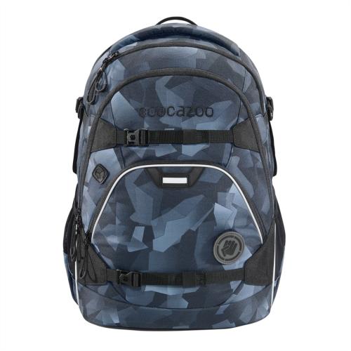 COOCAZOO - Školský ruksak ScaleRale, Grey Rocks, certifikát AGR