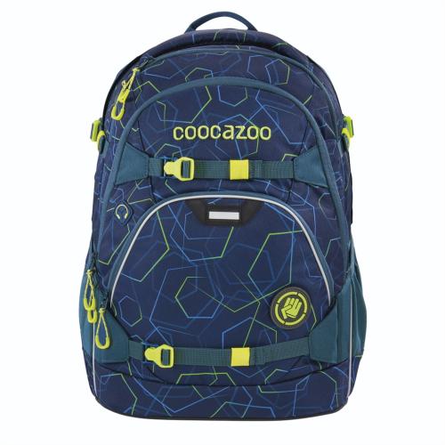 COOCAZOO - Školský ruksak ScaleRale, Laserbeam Blue, certifikát AGR