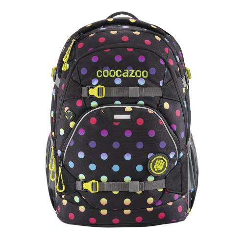 COOCAZOO - Školský ruksak ScaleRale, Magic Polka Colorful, certifikát AGR