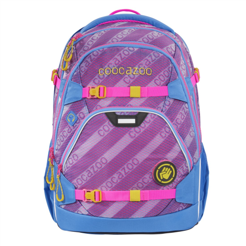 COOCAZOO - Školský ruksak ScaleRale, MeshFlash Neonpink, certifikát AGR