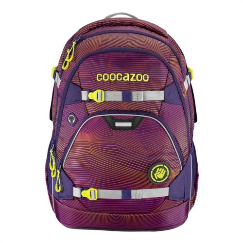 COOCAZOO - Školský ruksak ScaleRale, Soniclights Purple, AGR