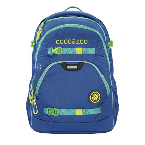 COOCAZOO - Školský ruksak ScaleRale, Waveman, certifikát AGR