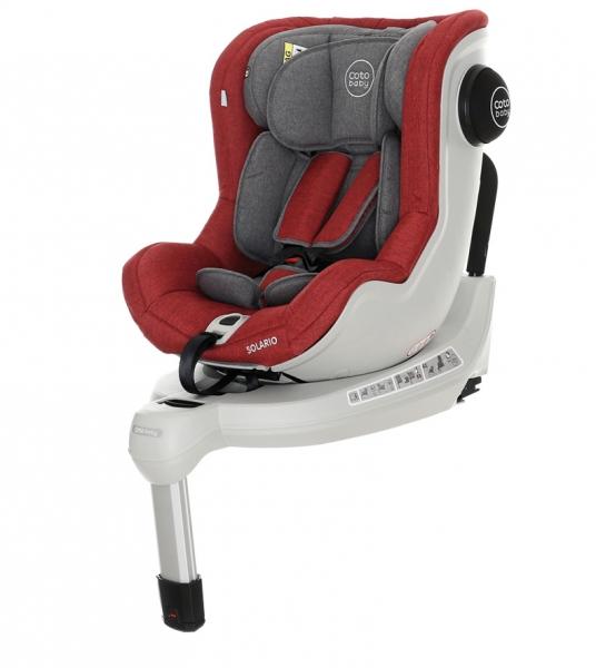 COTO BABY - Autosedačka Solario Melange 0-18 kg red