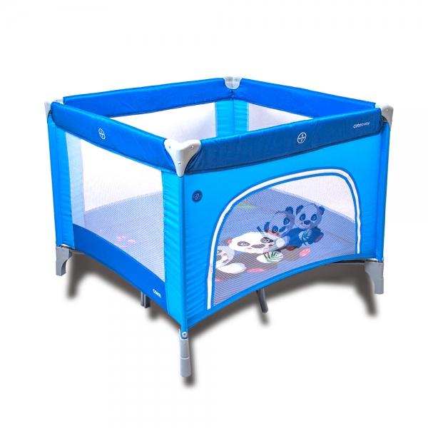COTO BABY - Skladacia ohrádka Conti - modrá