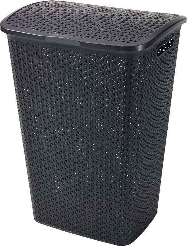 CURVER - Kôš na špinavú bielizeň Y Style Rattan 55 l - hnedý