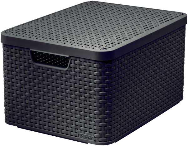 CURVER - Úložný box s vekom STYLE 2 L, hnedý